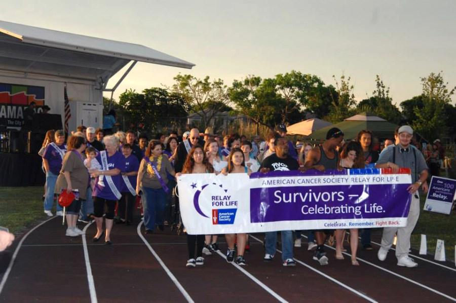 2014 Tamarac Relay for Life Survivor Lap