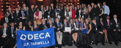 2015 State Conference Winners from JP Taravella DECA - 20 of the 51 students won trophies and qualified for International Competition in Orlando at the end of April.