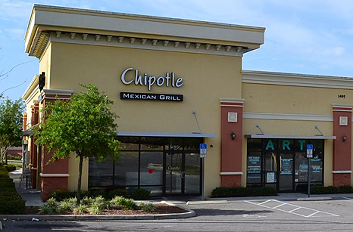 Chipotle - Not the actual new store in Lauderhill