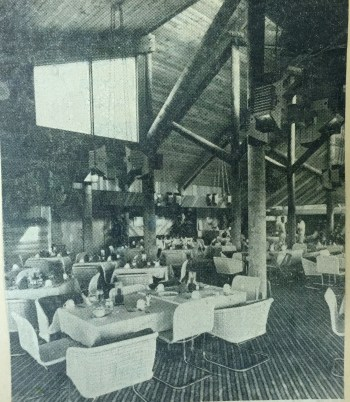 Interior of the Woodmont Country Club - Courtesy of the Tamarac Historical Society (click photo to make larger)