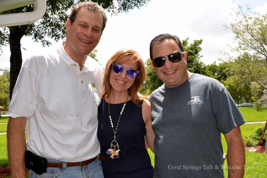 Mitch Ceasar along with Florida State Representative Kristin Jacobs and State Senator Jeremy Ring