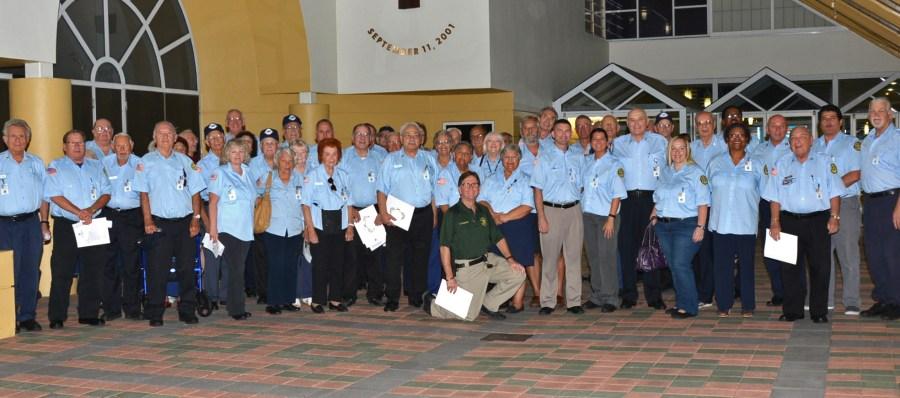 Tamarac COP Volunteers at the April 2015 City Commission Meeting