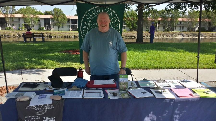 Sierra Club Volunteer - Photo Courtesy City of Tamarac