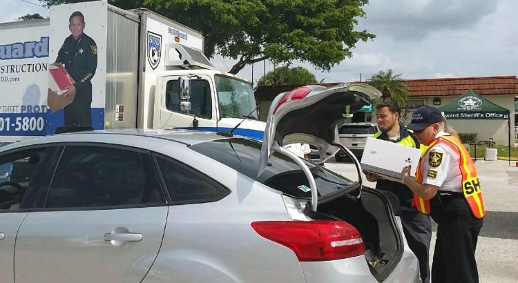 Broward Sheriff's Office Holds Shred-A-Thon in Tamarac