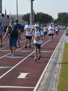 Six Million Steps to Holocaust Awareness Walk Held on March 18