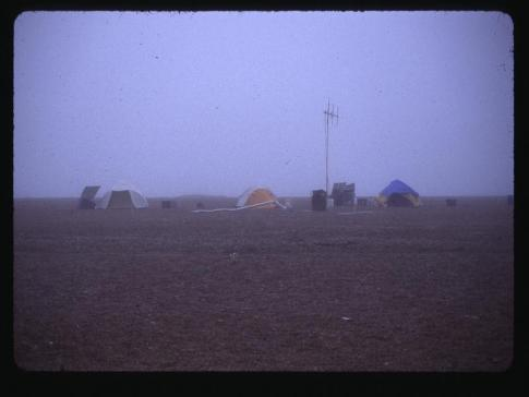 Cooper Island camp