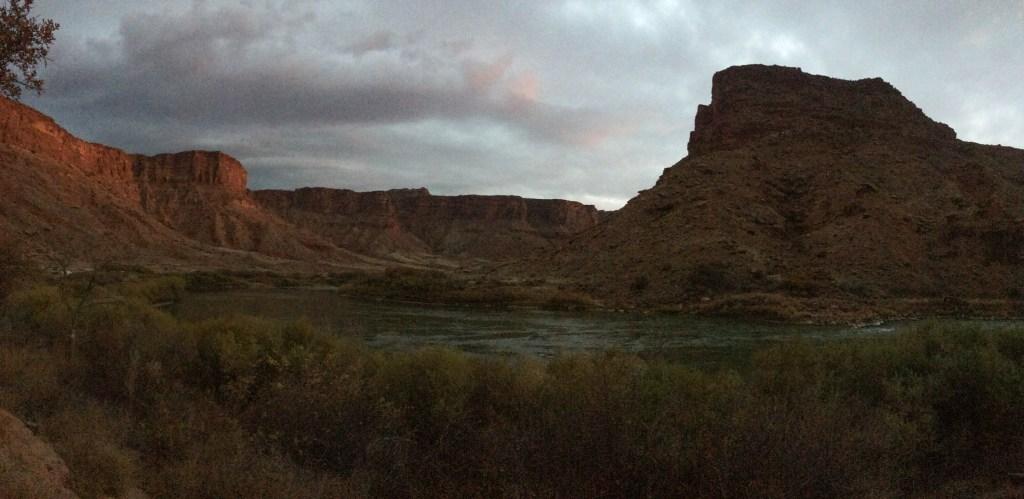 dusk, sunset, canyon