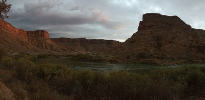 Colorado River dusk
