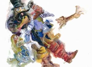 Watercolor Pinocchio