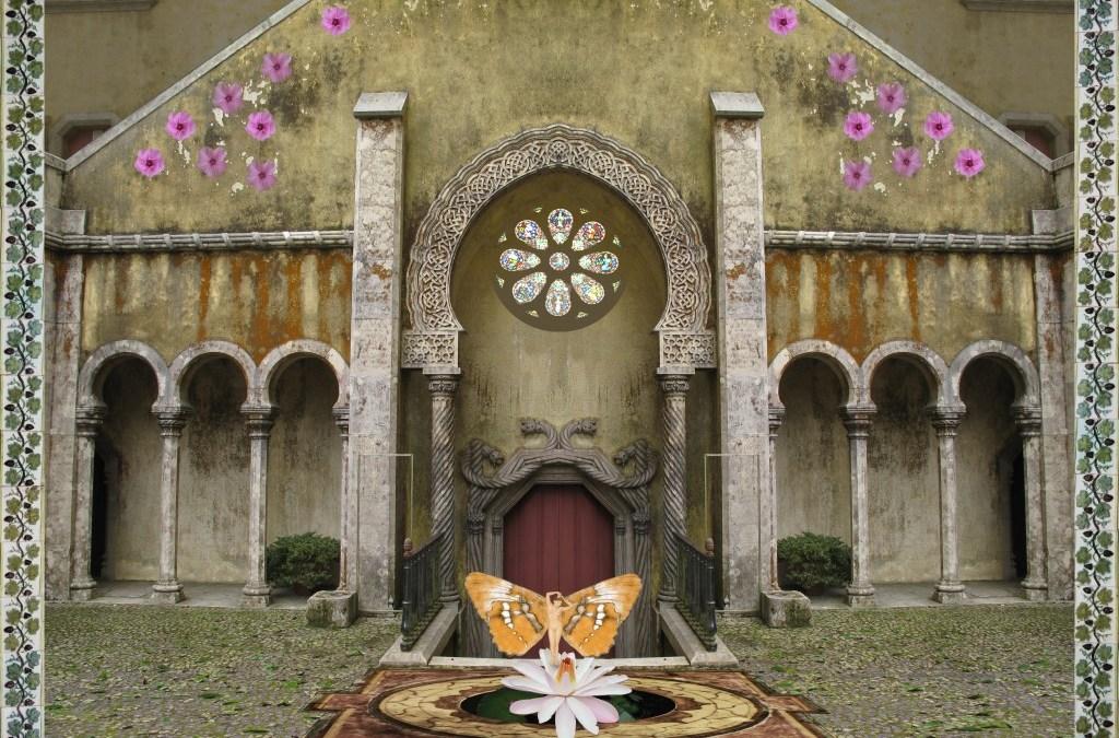 Sintra – Portal no Palácio da Pena