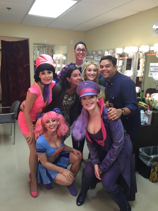 Tamara-Rodriguez_Cast-With-Robert-Lopez-And-Kristen-Andersen-Lopez_Up-Here-Musical-Comedy_La-Jolla-Playhouse_La-Jolla-CA