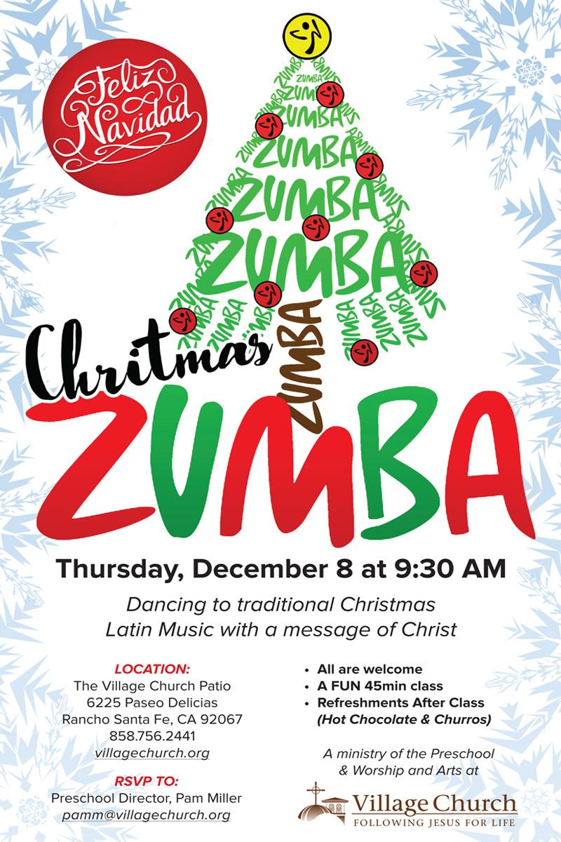 Zumba Christmas Images.Tamara Christmas Zumba Village Church Rancho Santa Fe