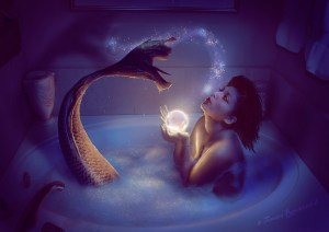 Mermaid bath 2