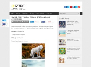 Tutorial - Simple Steps to Crop Animal Stock and Add Atmosphere