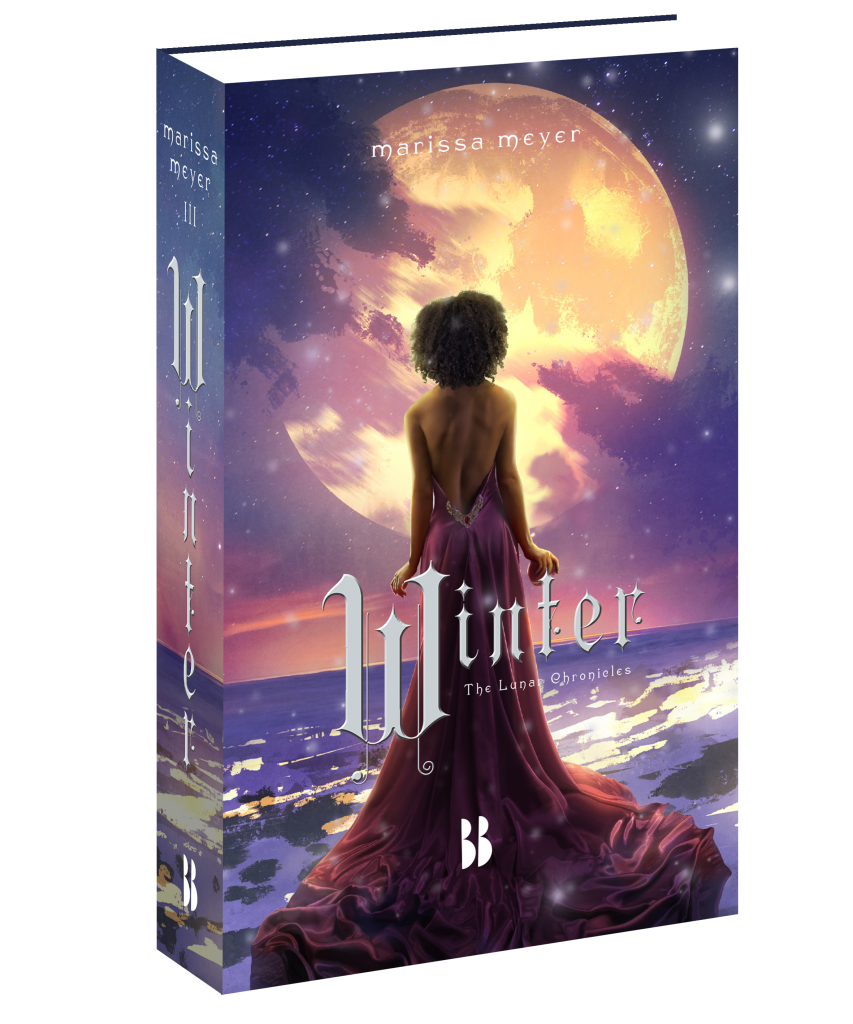 The Lunar Chronicles, Winter, Marissa Meyer, bookcover, book cover, Blossom Books