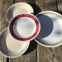 Vintage Corelle Dishes with Lead Lead Safe Mama
