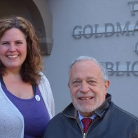 Tamara with Robert Reich in Berkeley, CA 12/10/2013