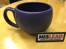 Purple Chantal Mug Postive for Lead Tamara Rubin Lead Safe Mama