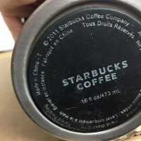 Starbucks Coffee Insulated Mug Stainless And Ceramic