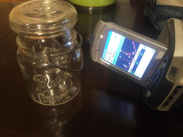 Vintage Clear Ball Brand Canning Jar: 46 ppm Lead + Cadmium