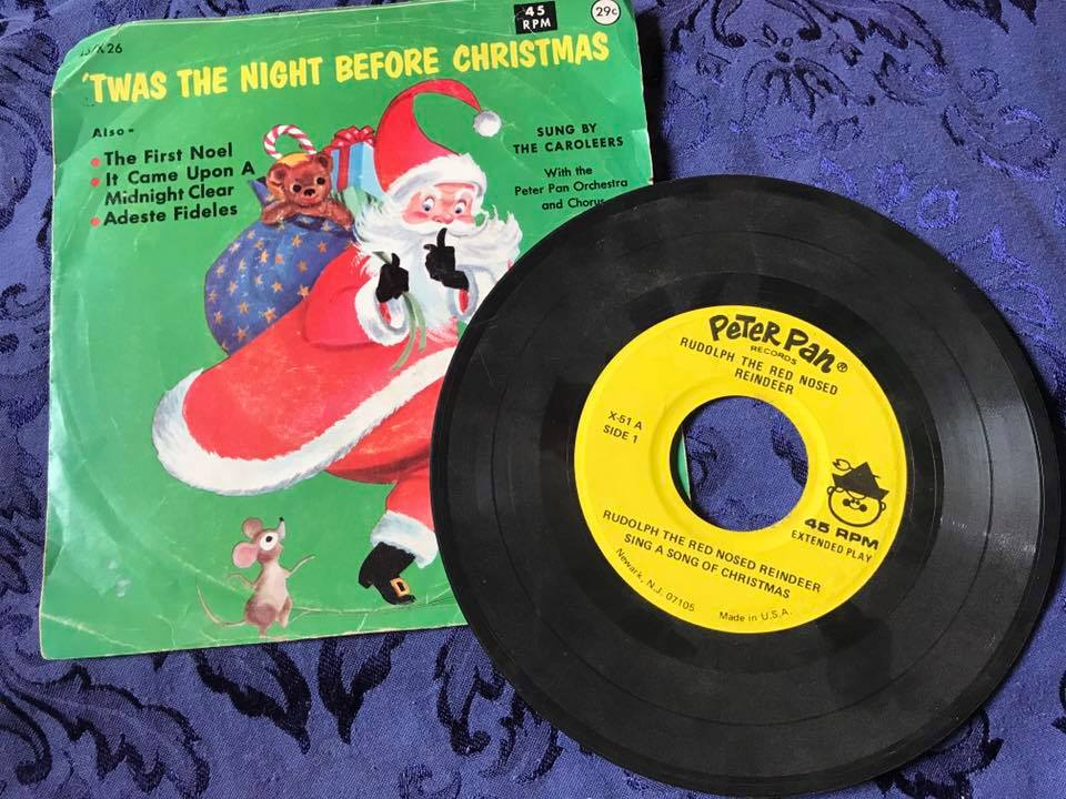 1966 Peter Pan '45 of Rudolph the Red Nosed Reindeer: 3,777 ppm Lead.