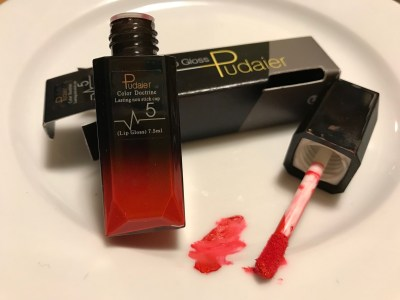 #Leaded Lip Gloss Available On Amazon! Positive for 2,430 ppm Lead and 91 ppm Arsenic. [10 ppm is toxic in lipstick.]