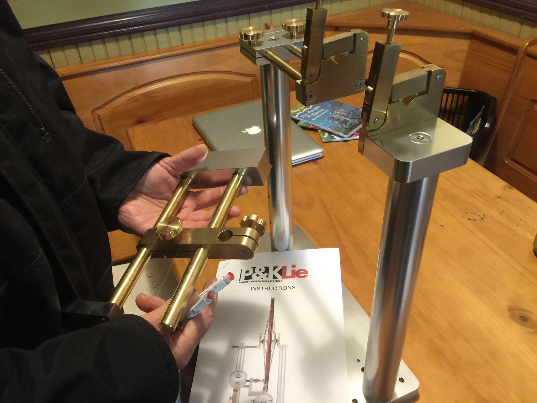 Bicycle Building Tools, P & K Lie Wheel Truing Stand, Leaded Brass Tamara Rubin Lead Safe Mama