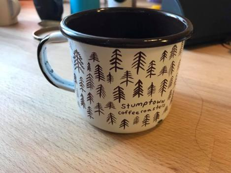 2017 Stumptown Coffee Roasters Enameled Mug: 5,192 ppm Lead