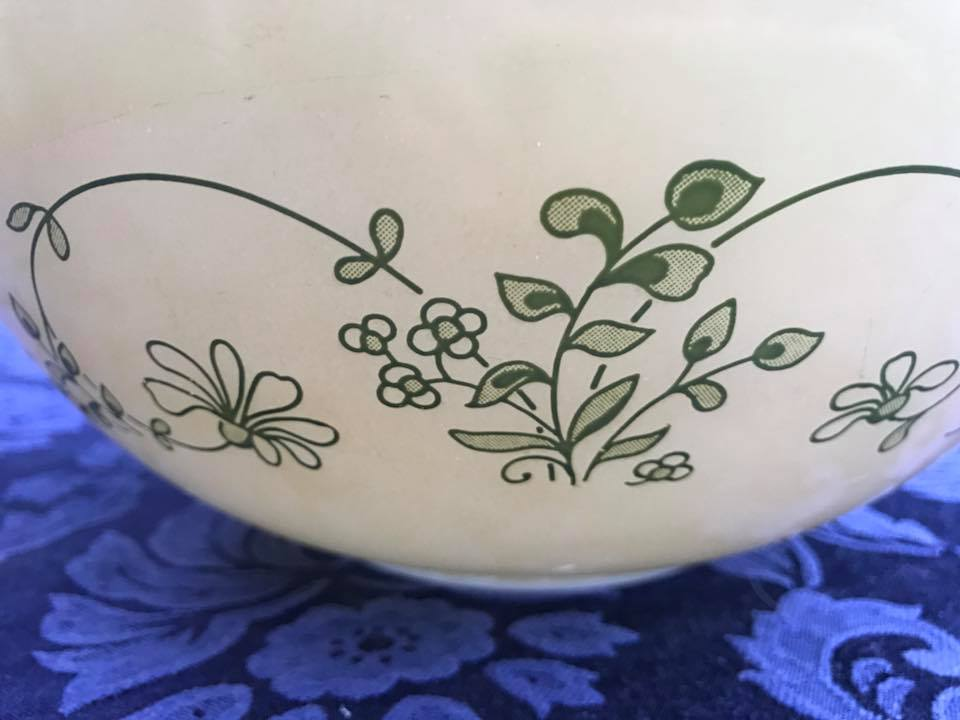 Pyrex Shenandoah Cinderella Bowl Tamara Rubin Lead Safe Mama Vintage