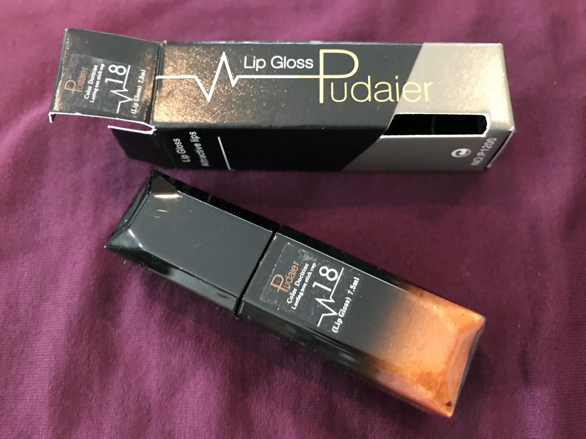Pudaier Gold Lipstick Lip Gloss Tamara Rubin Lead Safe Mama