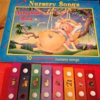 2006 Nursery Songs Xylophone Book Tamara Rubin Lead Safe Mama