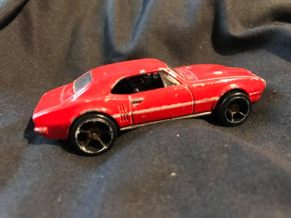 1967 Pontiac Firebird Hot Wheels Toy Car by Mattel Tamara Rubin Lead Safe Mama