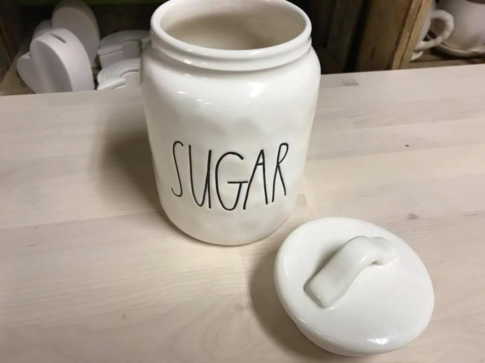Rae Dunn Sugar Container 2018 Tamara Rubin Lead Safe Mama