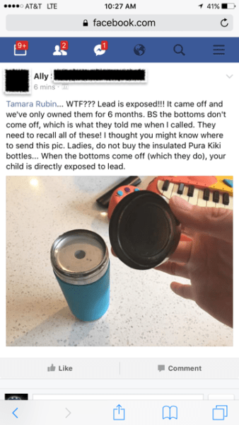 https://tamararubin.com/2018/07/dear-made-safe-please-revoke-your-certification-of-the-pura-kiki-insulated-baby-bottle-until-they-publicly-address-the-issue/