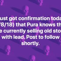 Pura Kiki Baby Bottles Have Lead