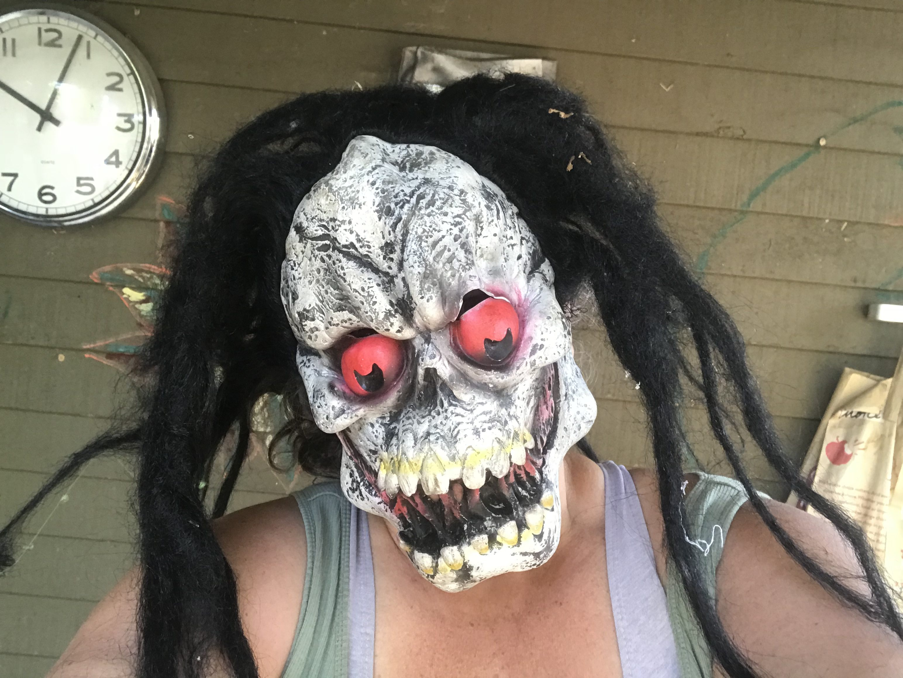 asktamara: does my scary zombie halloween mask have unsafe levels of