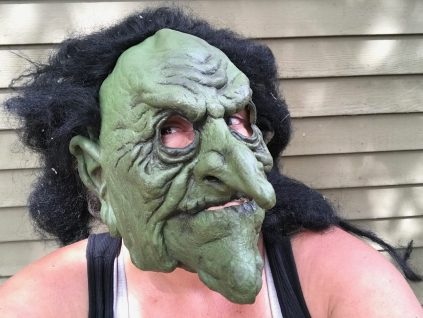 Is My Scary Witch Halloween Mask Full Of Toxic Chemicals?