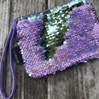 Mermaid Reversible Sequin Coin Purse Tamara Rubin Lead Safe Mama 1