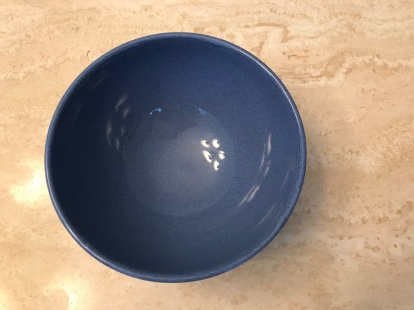 XRF Test Results for Blue Waechtersbach German Bowl from Williams Sonoma