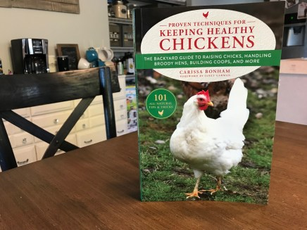 The only chicken book available today that talks about protecting your chickens from lead poisoning!
