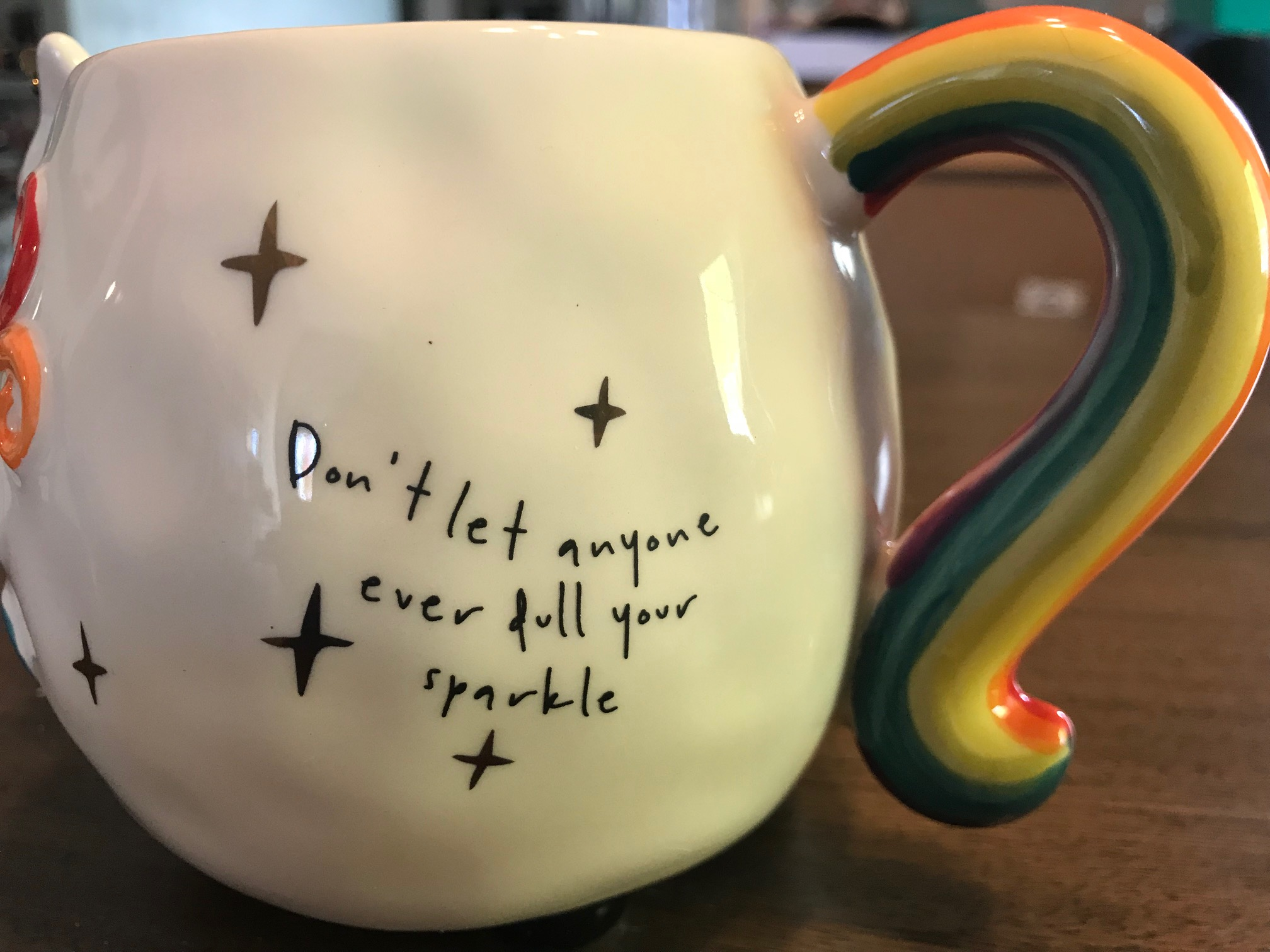 "XRF Test Results for Newly Purchased 'Natural Life"" Unicorn Mug"