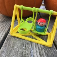 Vintage Fisher Price Little People Swing Set Tamara Rubin Lead Safe Mama 1