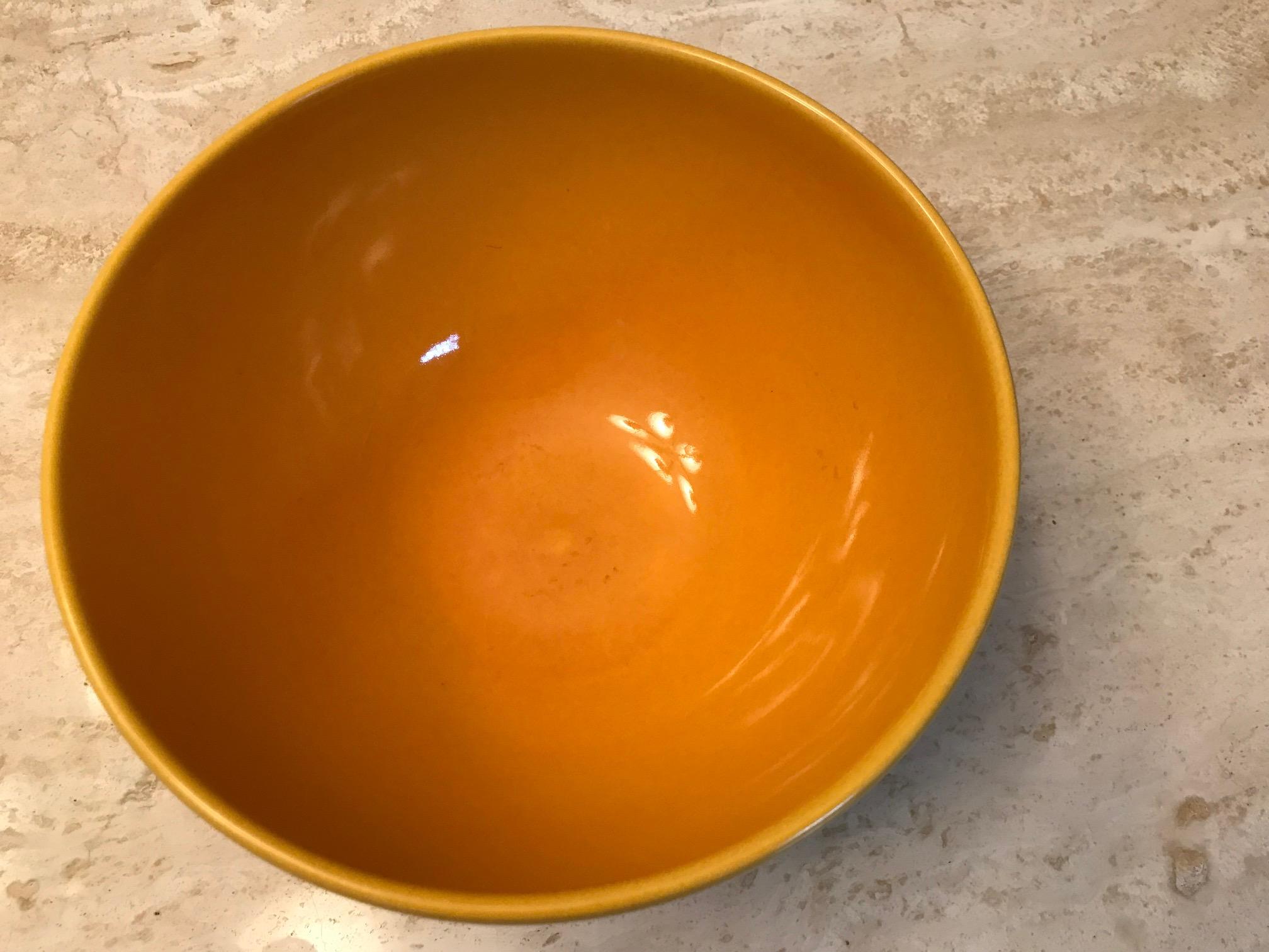 Yellow Waechtersbach German Nesting Bowl, c. 2009