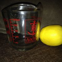 1 cup Anchor Measuring Cup with Lead Paint NH 3