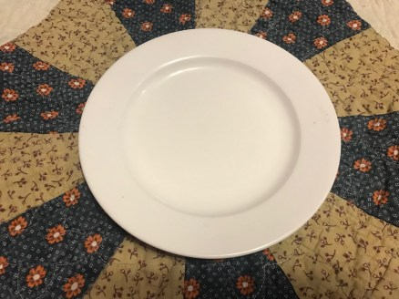 BIA Cordon Bleu Plain White China Plate, Made in Indonesia: 6,081 ppm Lead (in the bottom logo.)