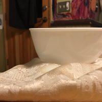 Corelle Vitrelle Plain White Large Bowl Tamara Rubin Lead Safe Mama 1