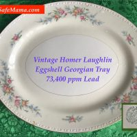 Homer Laughlin Georgian Eggshell Tray Tamara Rubin Lead Safe Mama 1