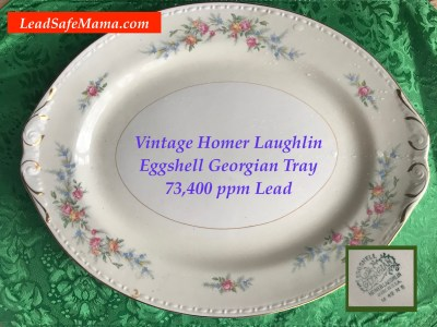 """Tamara's Toxic Dishes Guide: """"Do my dishes have Lead?"""" Read this post to see if YOUR china has Lead!"""