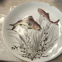 Johnson Brothers Made In England Fish Plate Lead Safe Mama 1