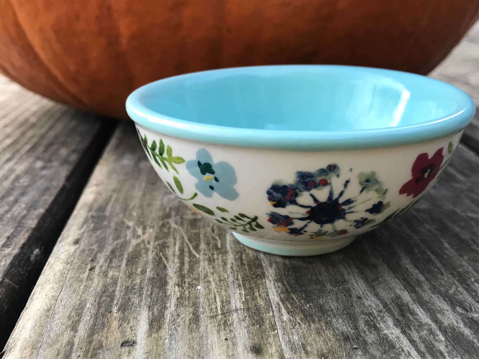 Pioneer Woman Kari Pattern Dipping Bowl: as high as 2,299 ppm Lead